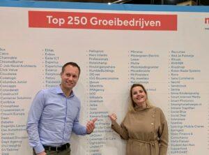 Oprichters Jelba winnaars 250 groeibedrijven 2020